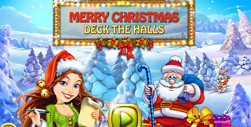 Merry Christmas: Deck The Halls Free Download