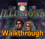 hoyle illusions walkthrough