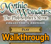 mythic wonders: the philosophers stone walkthrough
