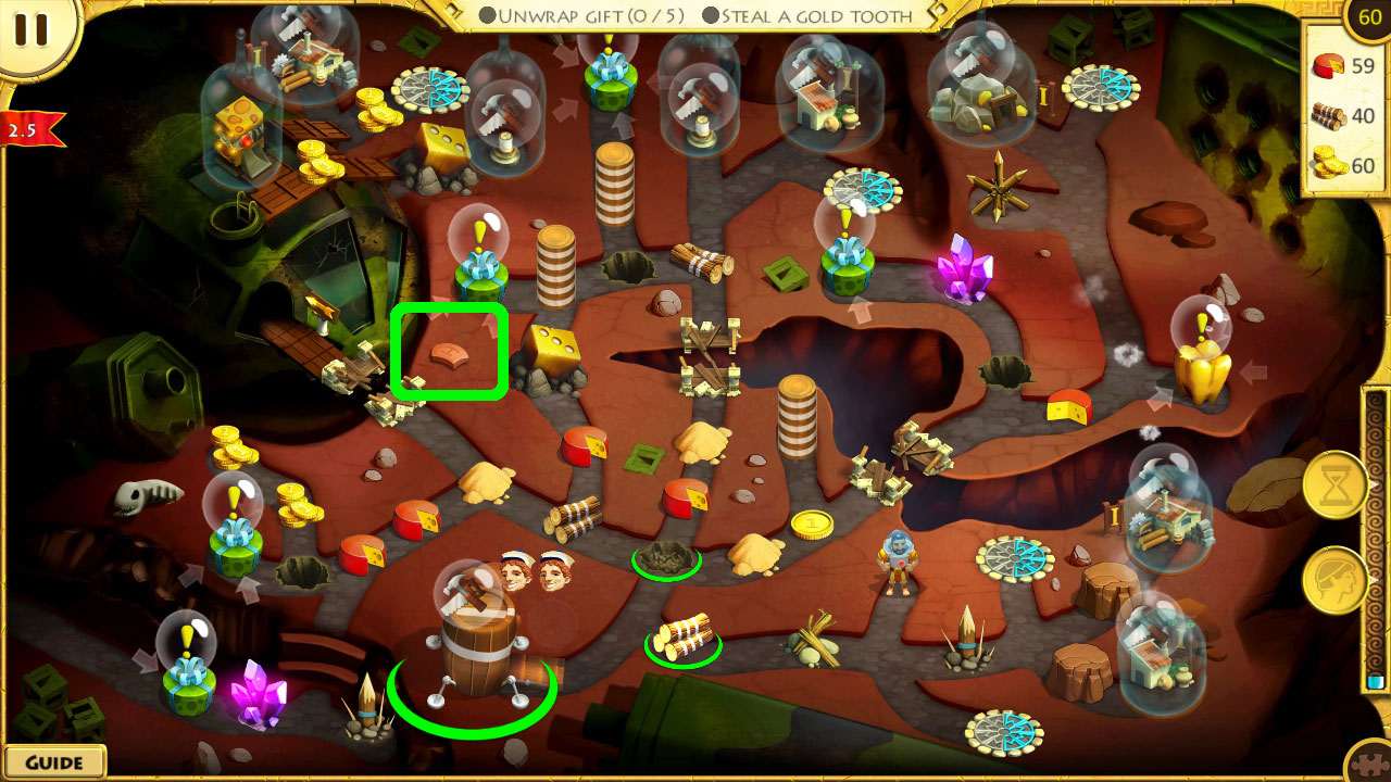 12 Labours of Hercules IX: A Hero's Moonwalk Puzzle Pieces Locations Screenshots 15