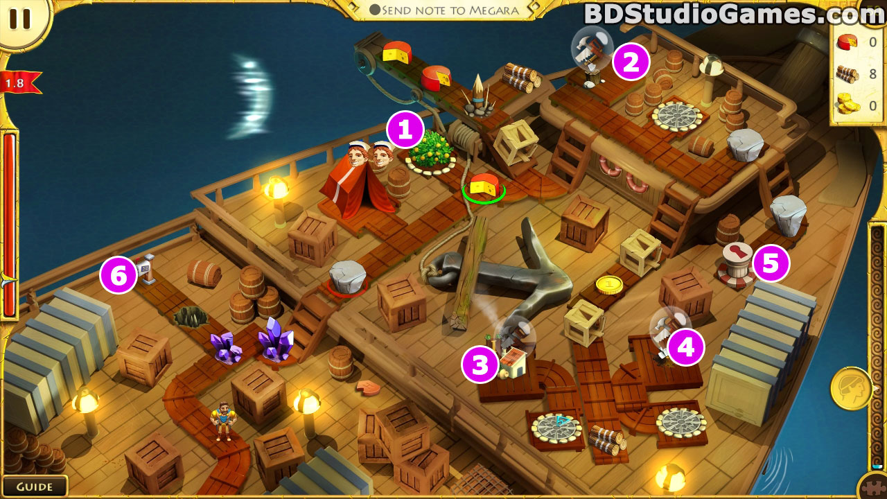 12 Labours of Hercules VIII: How I Met Megara Walkthrough Screenshots 7