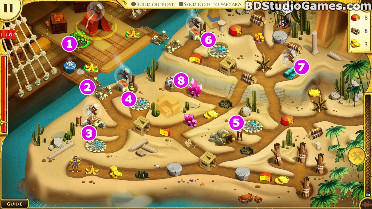 12 Labours of Hercules VIII: How I Met Megara Walkthrough Screenshots 9