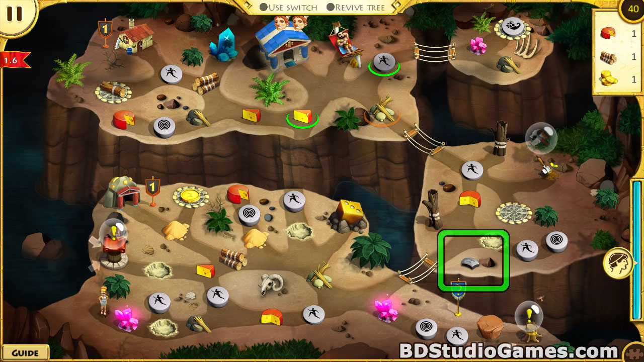 12 Labours of Hercules X: Greed for Speed Puzzle Pieces Locations Screenshots 06
