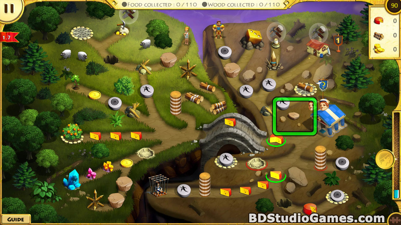 12 Labours of Hercules X: Greed for Speed Puzzle Pieces Locations Screenshots 07