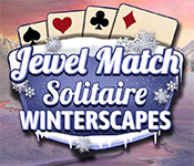 jewel match solitaire: winterscapes gameplay