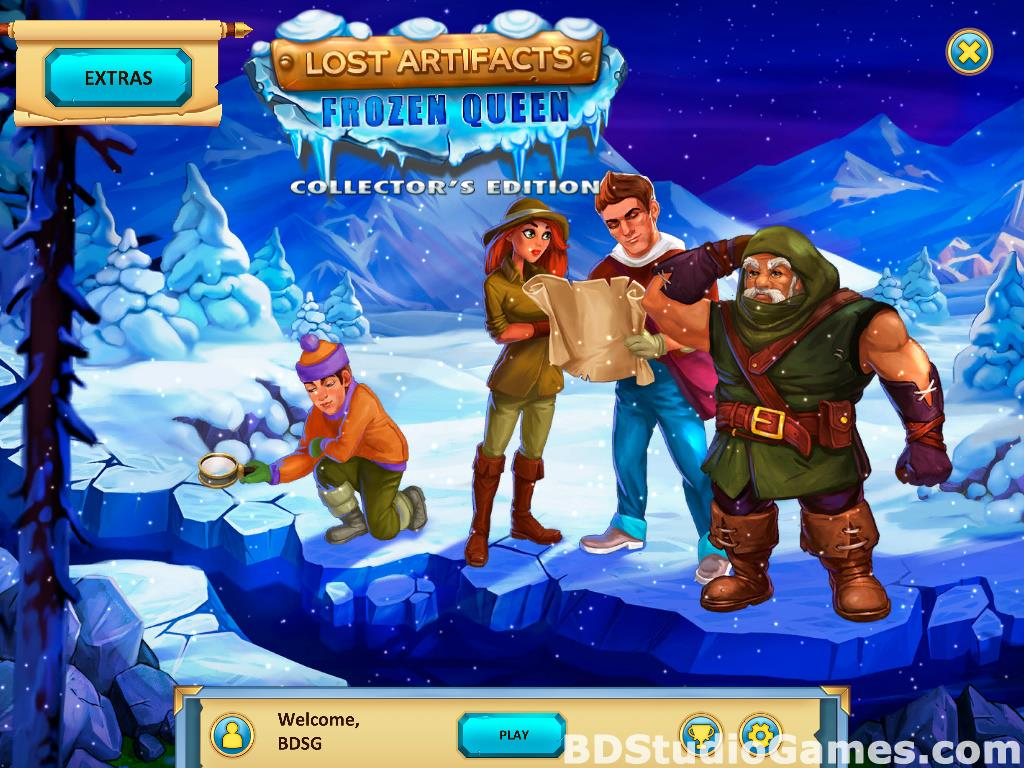 Lost Artifacts: Frozen Queen Collector's Edition Screenshots 01
