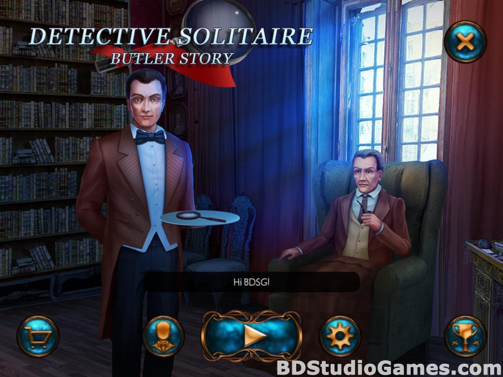 Detective Solitaire. Butler Story Screenshots 01