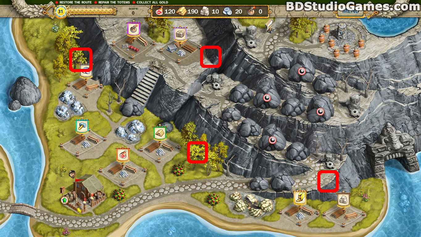 Adelantado 4 Aztec Skulls Cache Locations Screenshots 4_1