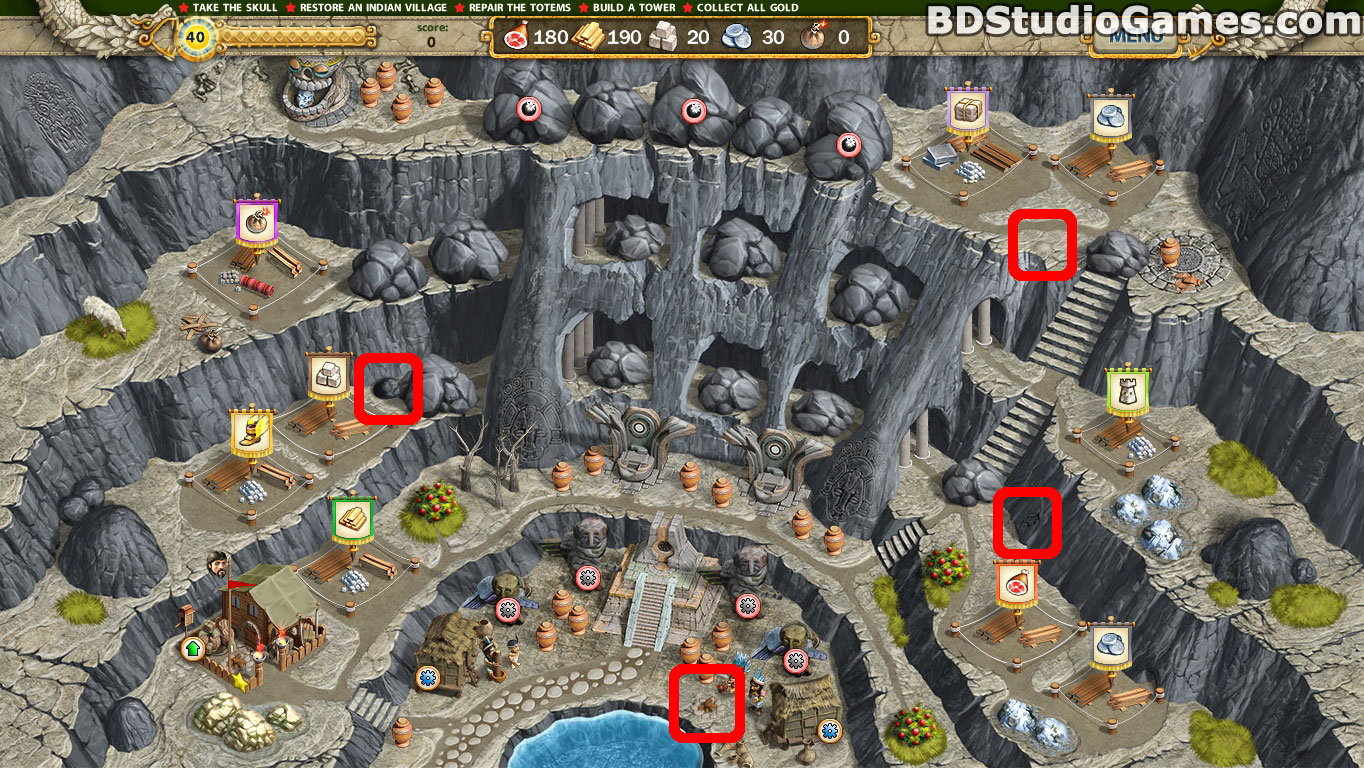 Adelantado 4 Aztec Skulls Cache Locations Screenshots 4_10