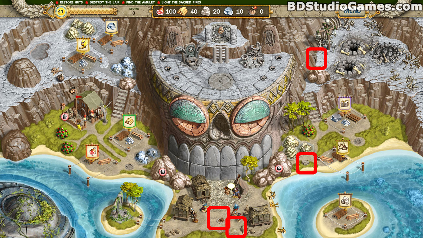 Adelantado 4 Aztec Skulls Cache Locations Screenshots 5_1