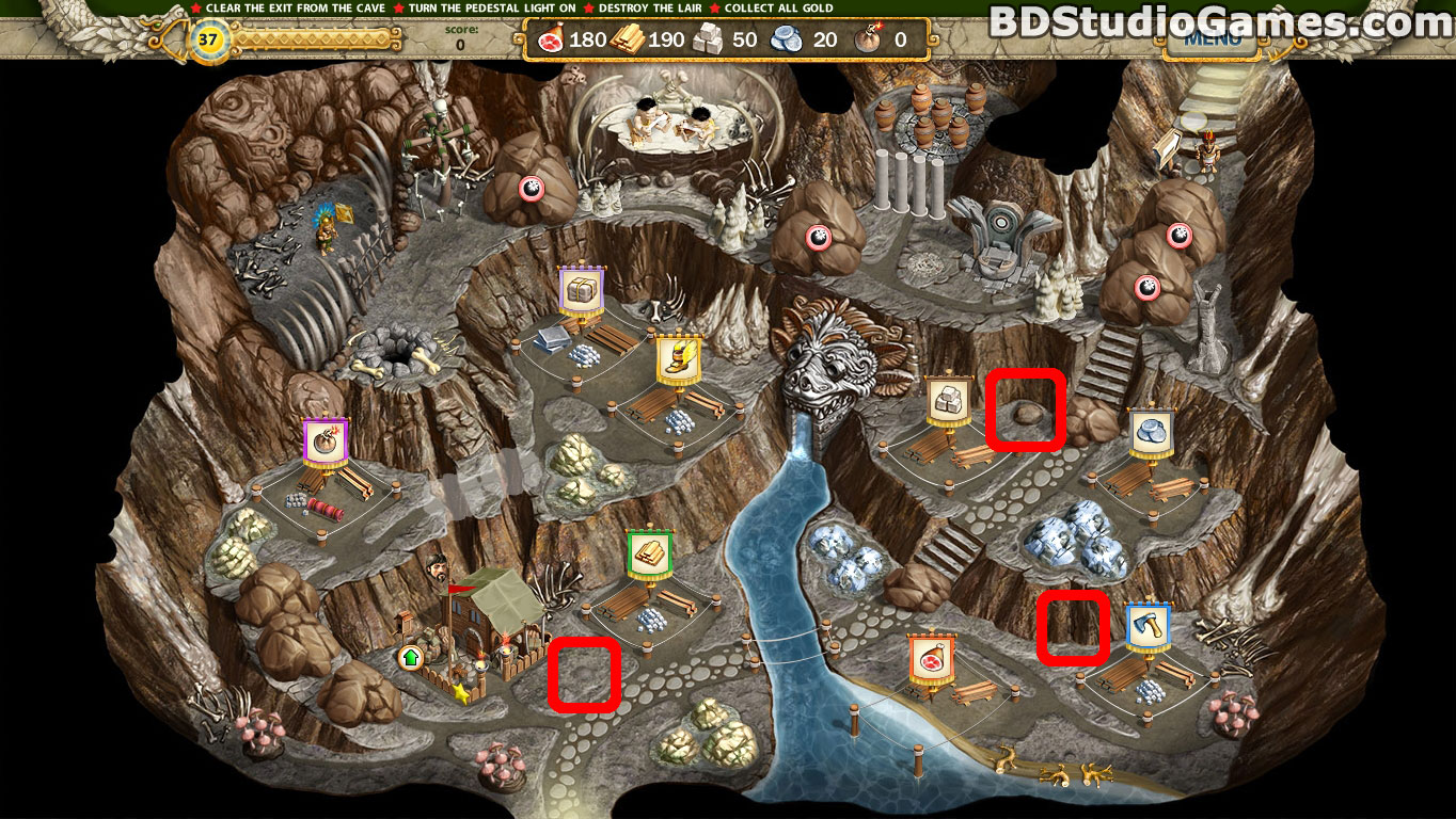 Adelantado 4 Aztec Skulls Cache Locations Screenshots 4_7