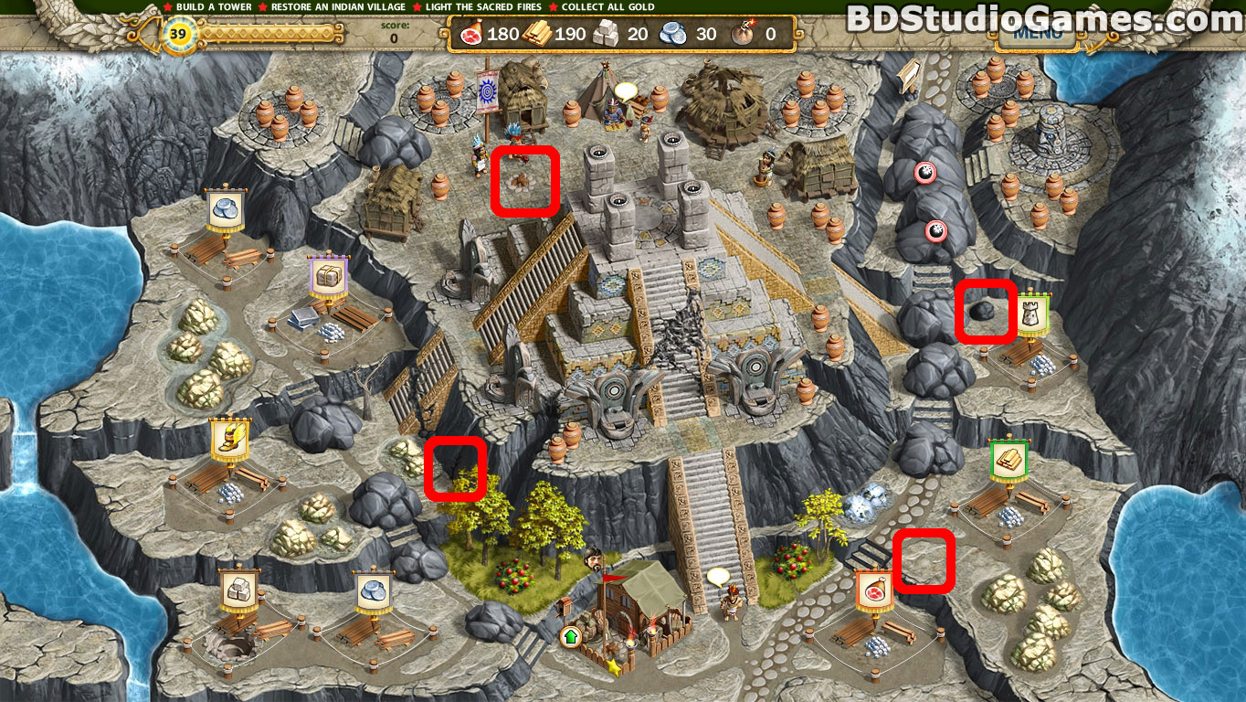 Adelantado 4 Aztec Skulls Cache Locations Screenshots 4_9