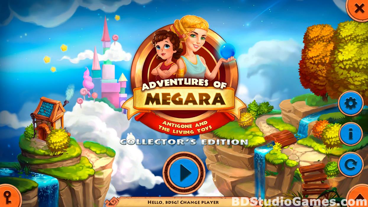 Adventures of Megara: Antigone and the Living Toys Collector's Edition Free Download Screenshots 01