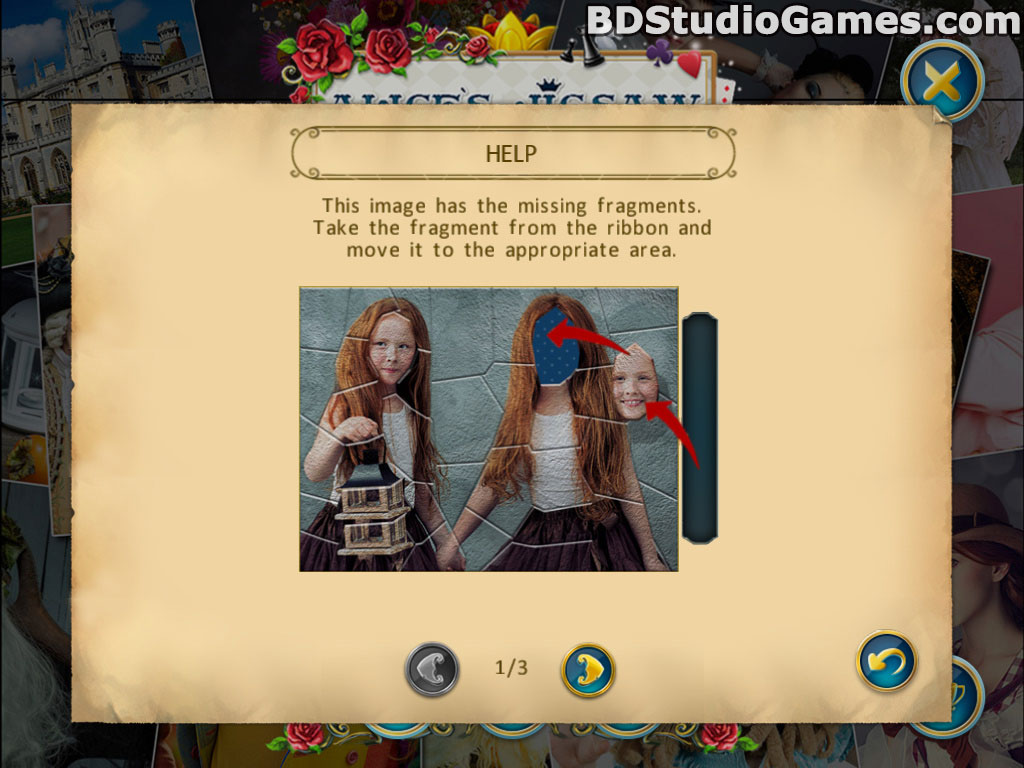 Alice's Jigsaw: Time Travel 2 Free Download Screenshots 6