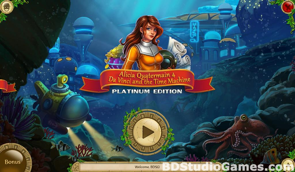 Alicia Quatermain 4: Da Vinci and the Time Machine Collector's Edition Free Download Screenshots 01