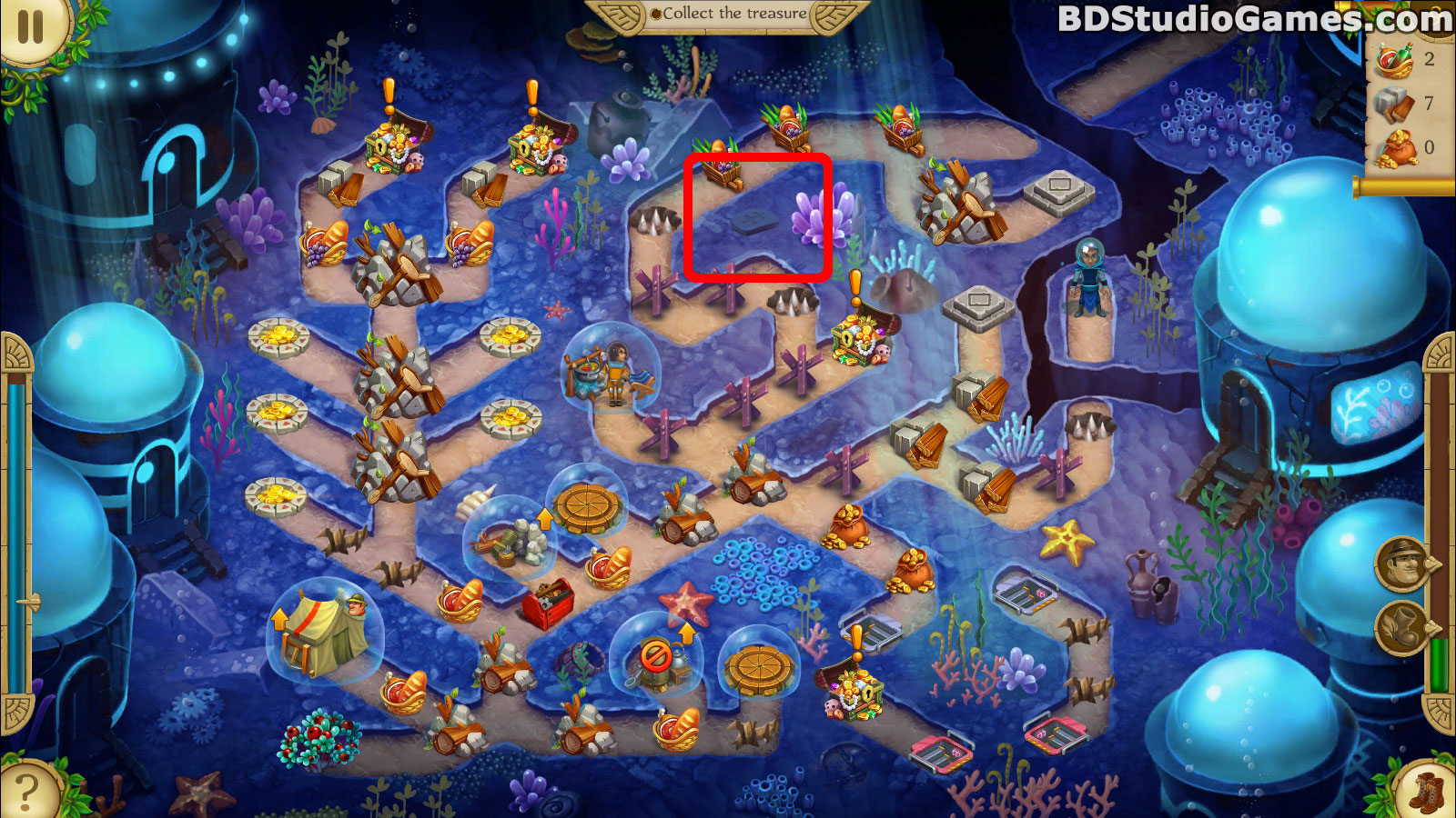 Alicia Quatermain 4: Da Vinci and the Time Machine Puzzle Pieces Locations Screenshots 09