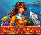 Alicia Quatermain 4: Da Vinci and the Time Machine Walkthrough, Guides and Tips