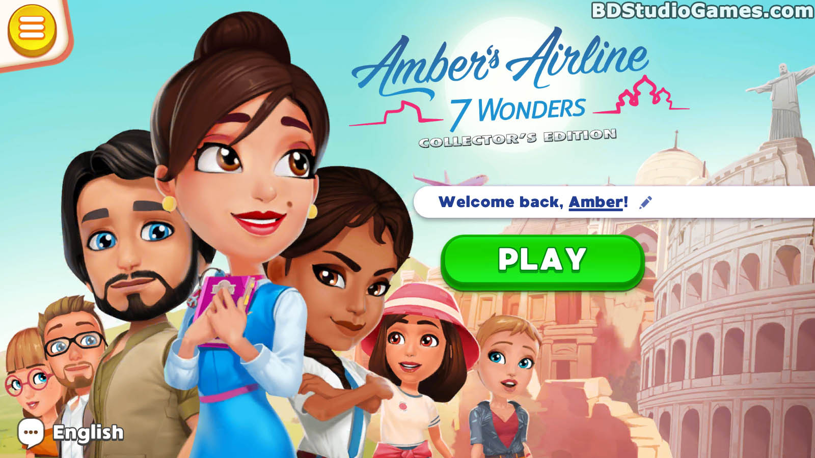 Amber's Airline: 7 Wonders Collector's Edition Free Download Screenshots 01