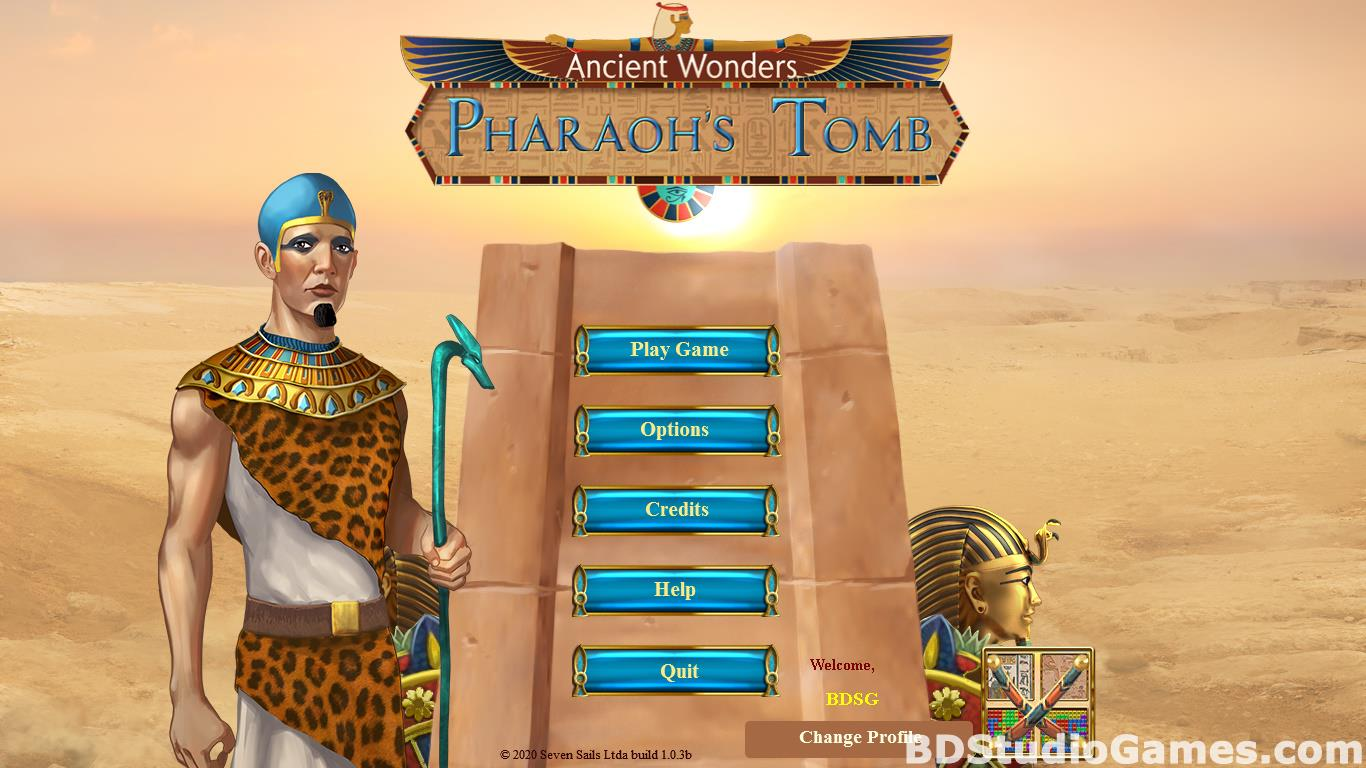 Ancient Wonders: Pharaoh's Tomb Free Download Screenshots 01