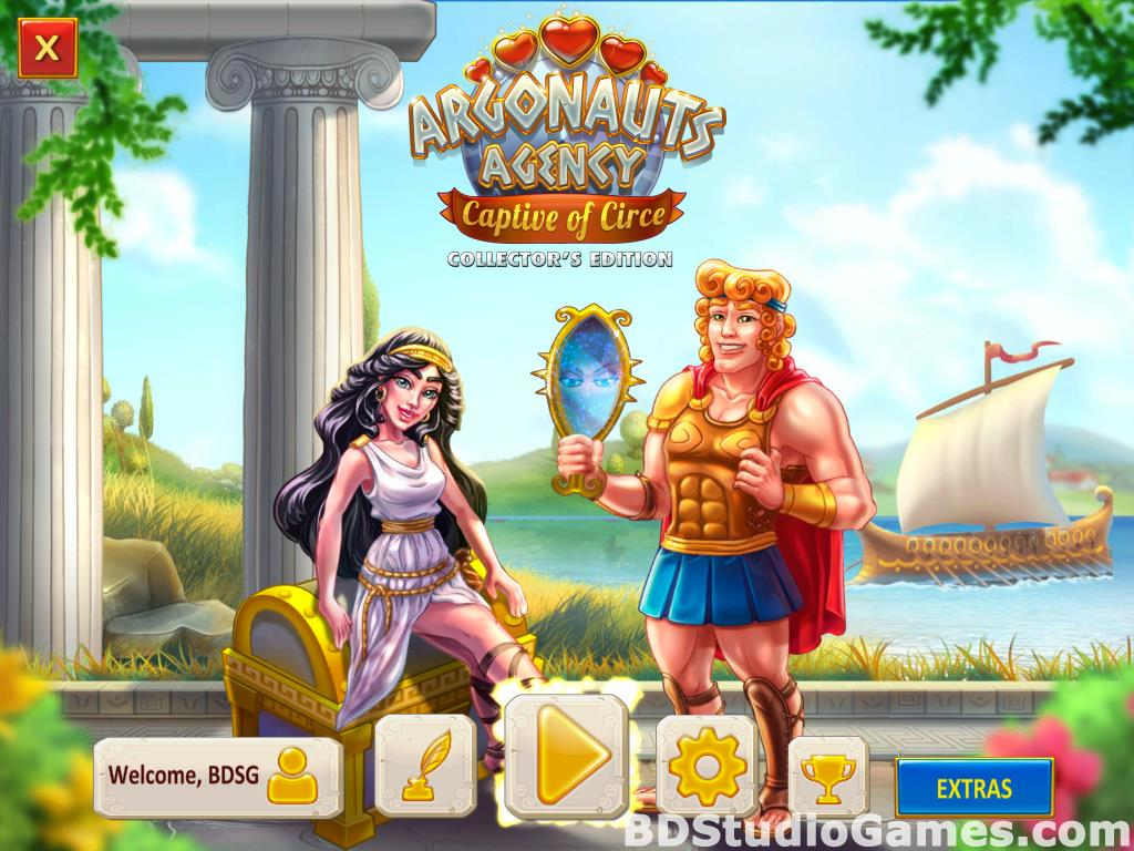 Argonauts Agency: Captive of Circe Collector's Edition Free Download Screenshots 01