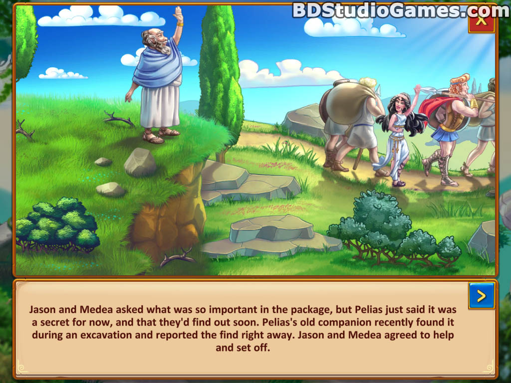 Argonauts Agency: Glove of Midas Game Download Screenshots 02