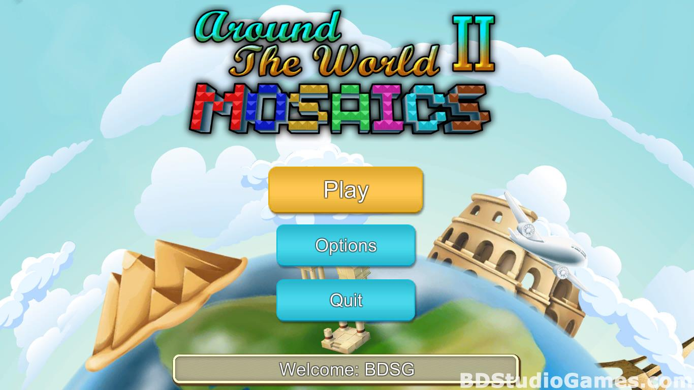 Around the World Mosaics II Free Download Screenshots 01