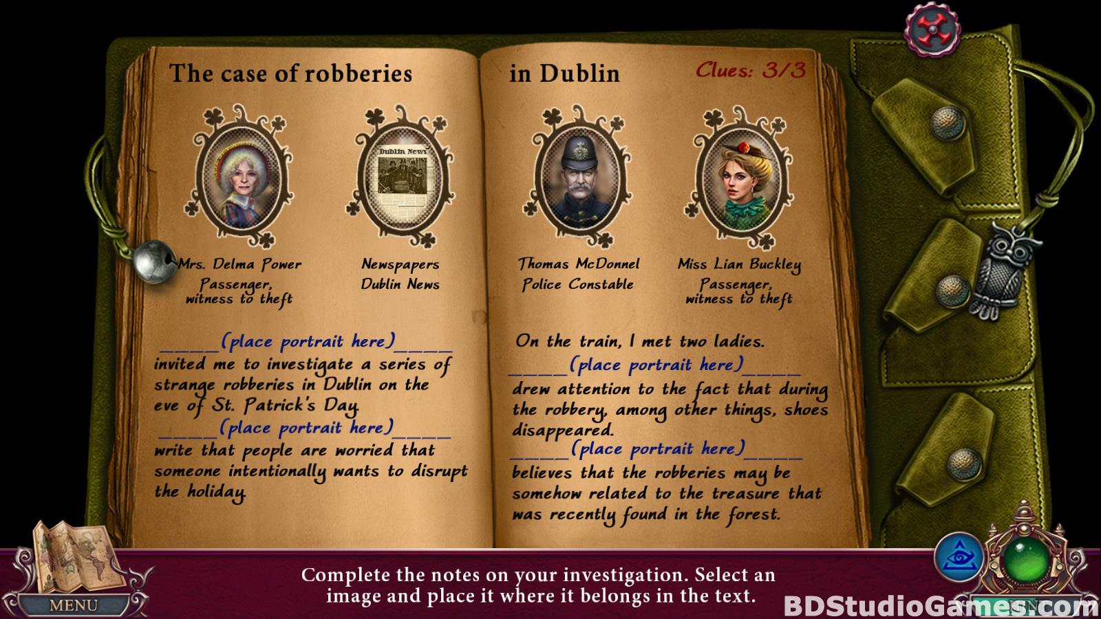 Dark City: Dublin Collector's Edition Free Download Screenshots 13