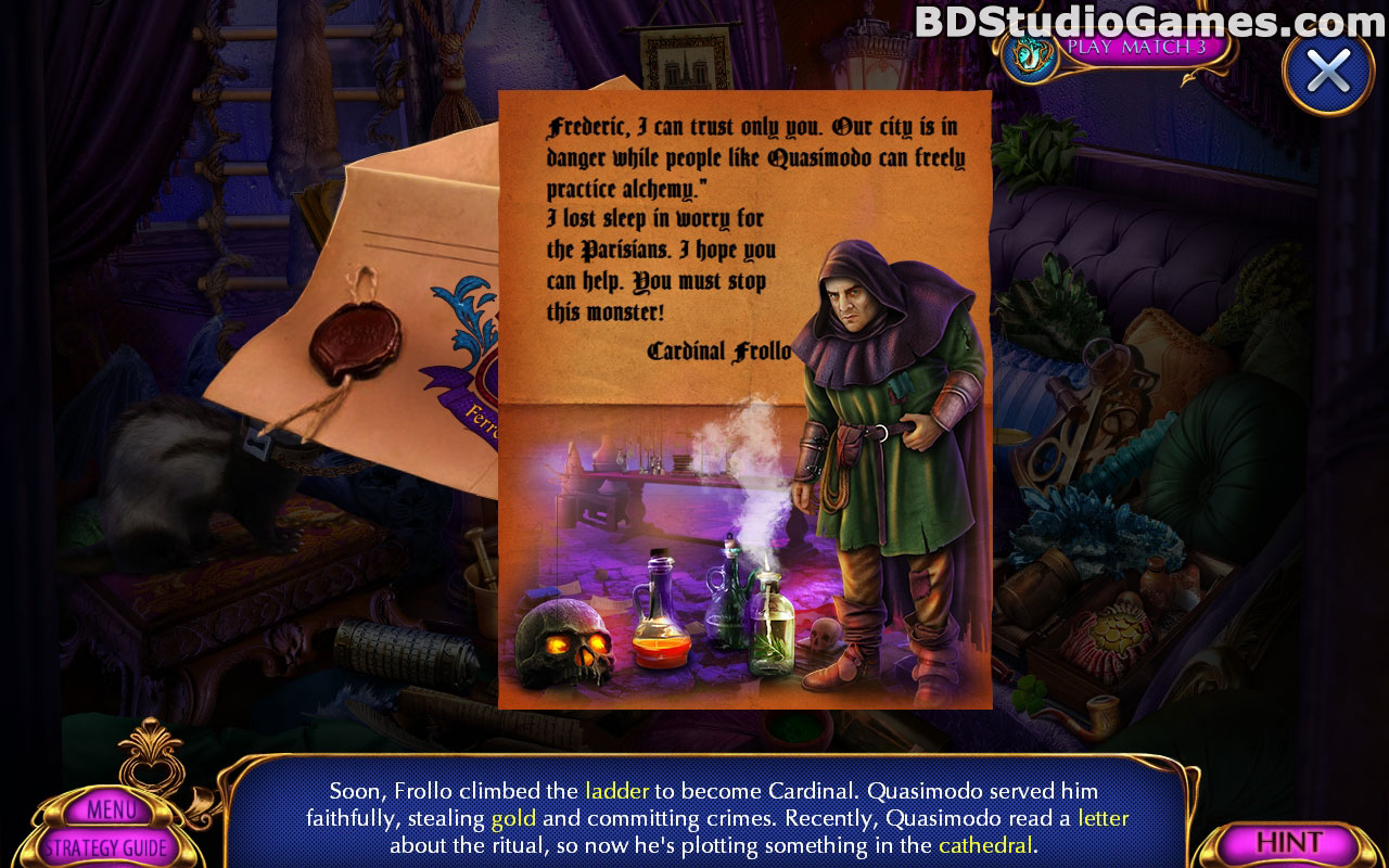 Dark Romance: Hunchback Of Notre Dame Collector's Edition Screenshots 2