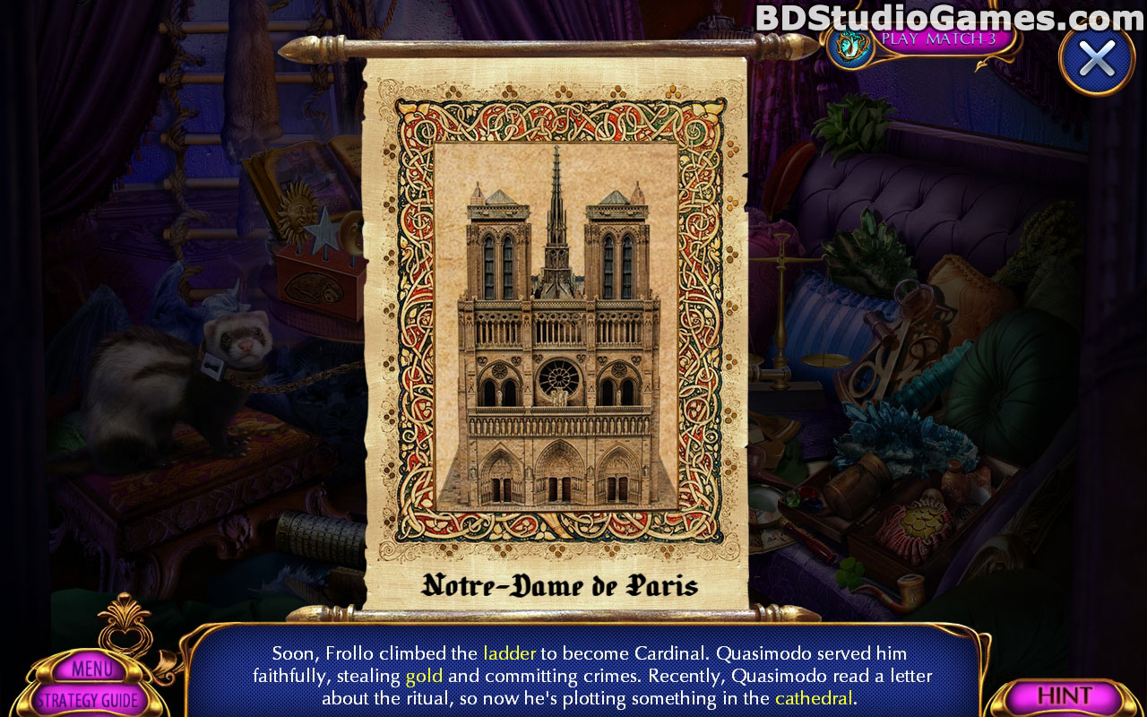 Dark Romance: Hunchback Of Notre Dame Collector's Edition Screenshots 4