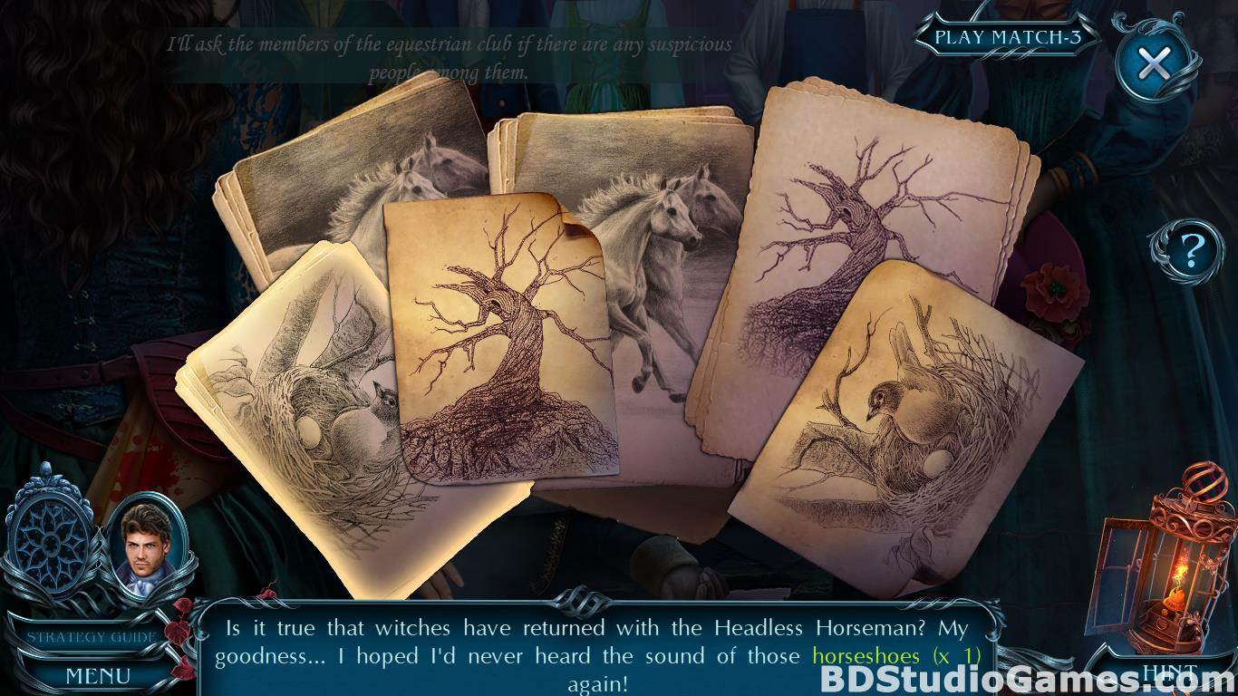 Dark Romance: Sleepy Hollow Collector's Edition Free Download Screenshots 14