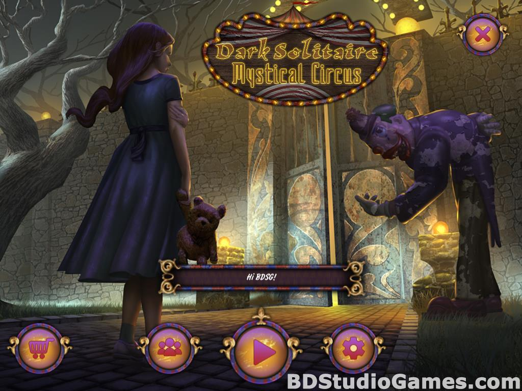 Dark Solitaire: Mystical Circus Free Download Screenshots 01