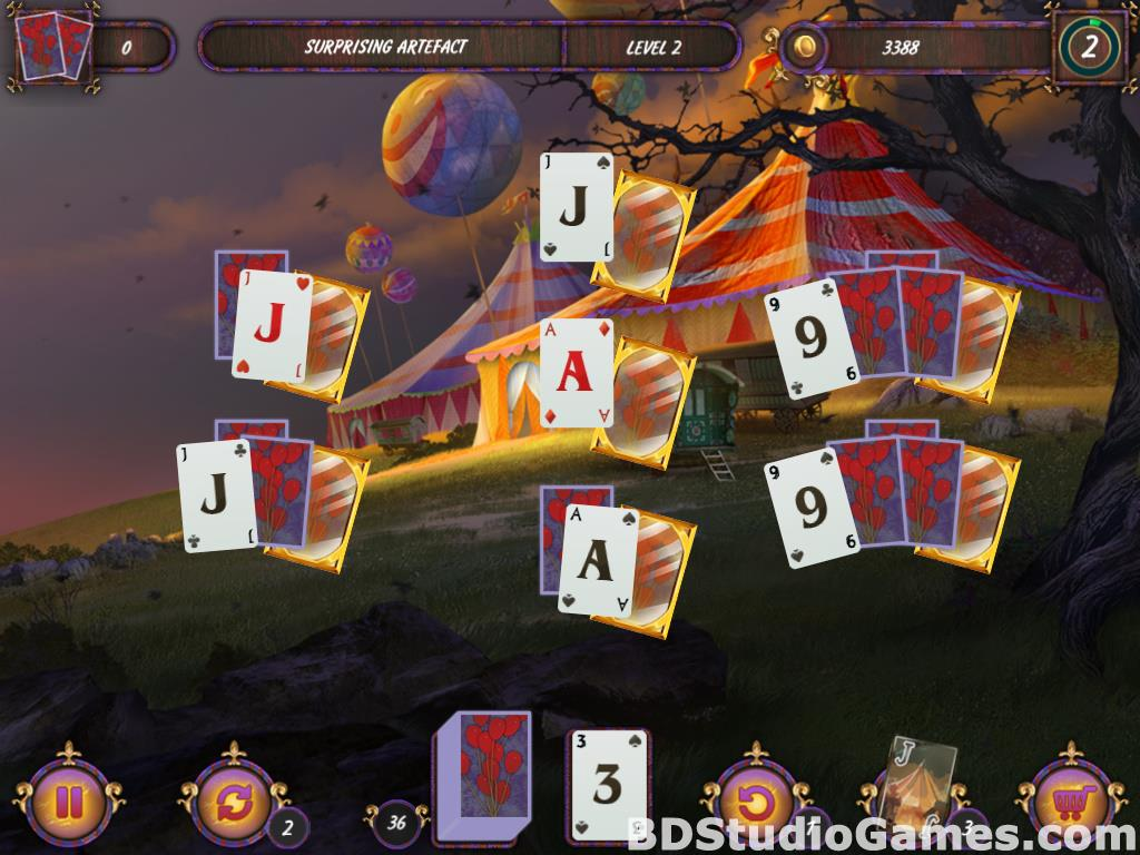 Dark Solitaire: Mystical Circus Free Download Screenshots 10