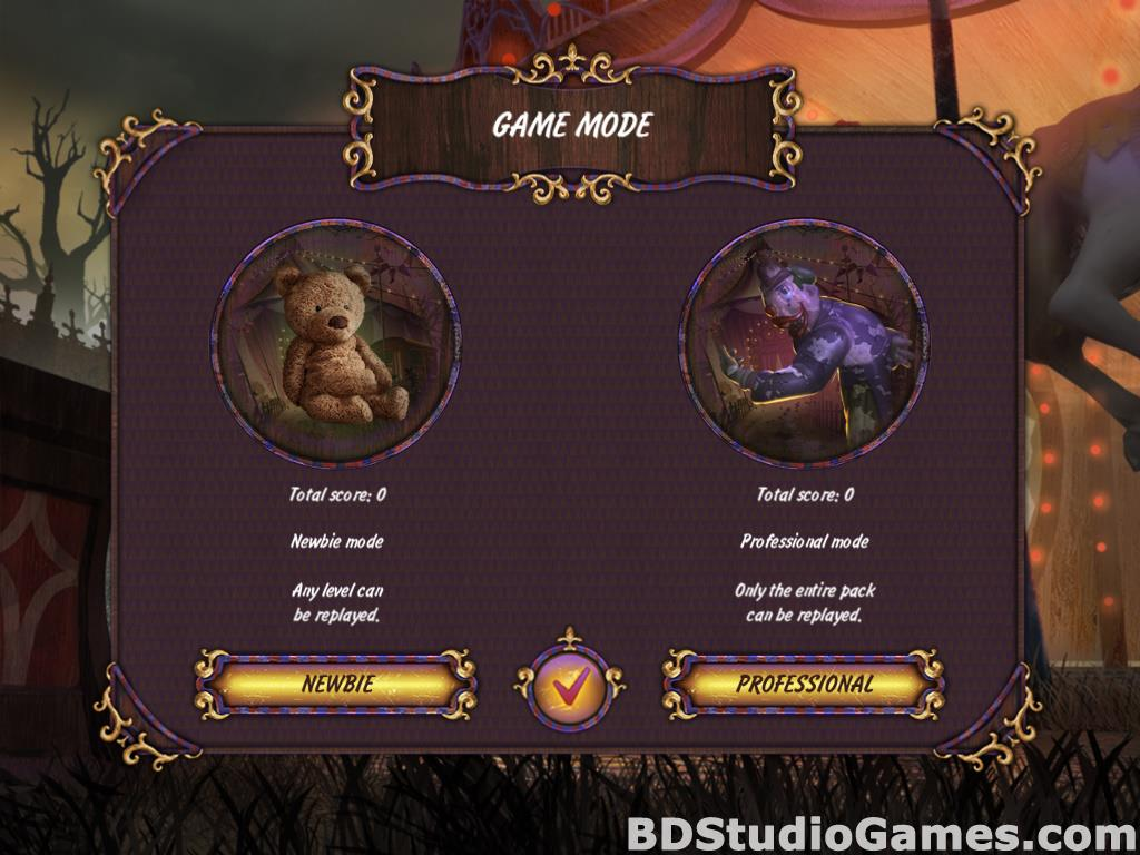 Dark Solitaire: Mystical Circus Free Download Screenshots 02
