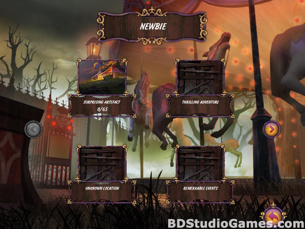 Dark Solitaire: Mystical Circus Free Download Screenshots 03
