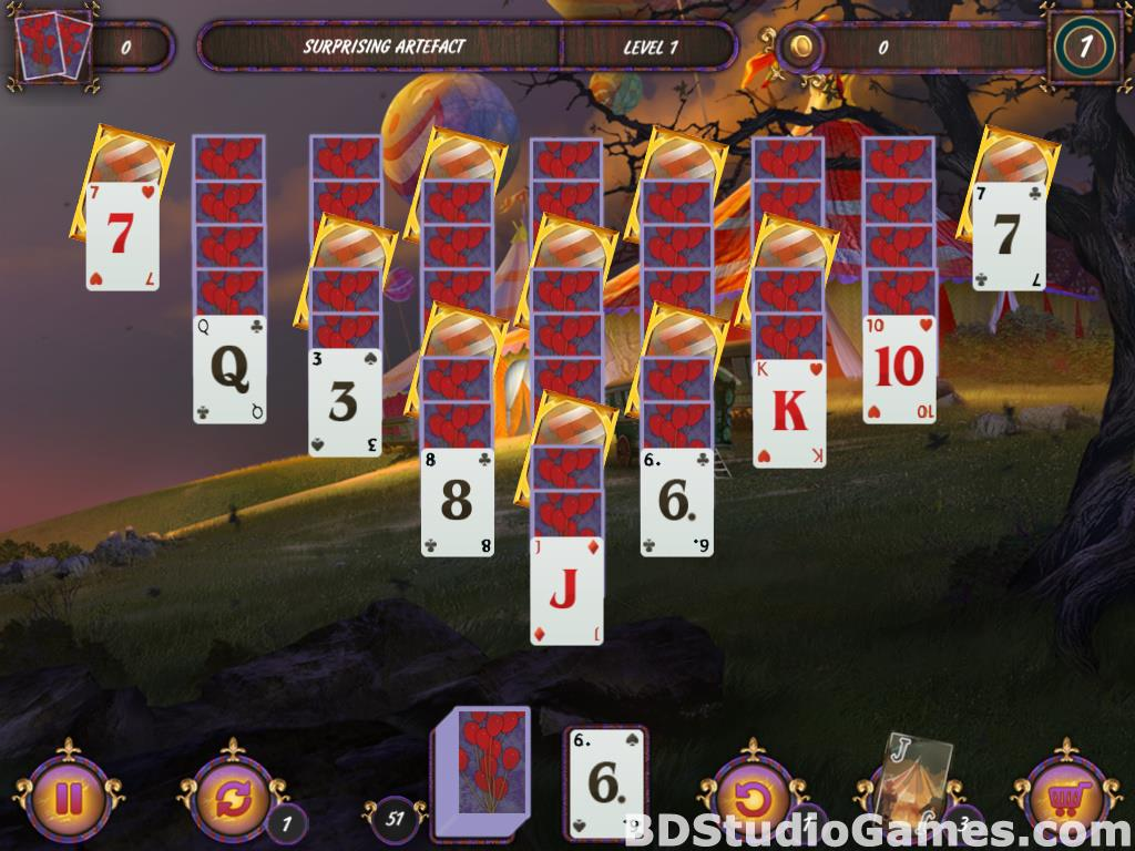 Dark Solitaire: Mystical Circus Free Download Screenshots 05