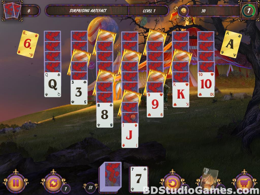 Dark Solitaire: Mystical Circus Free Download Screenshots 06