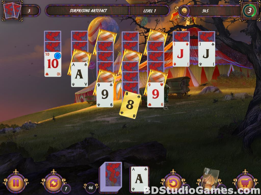 Dark Solitaire: Mystical Circus Free Download Screenshots 07