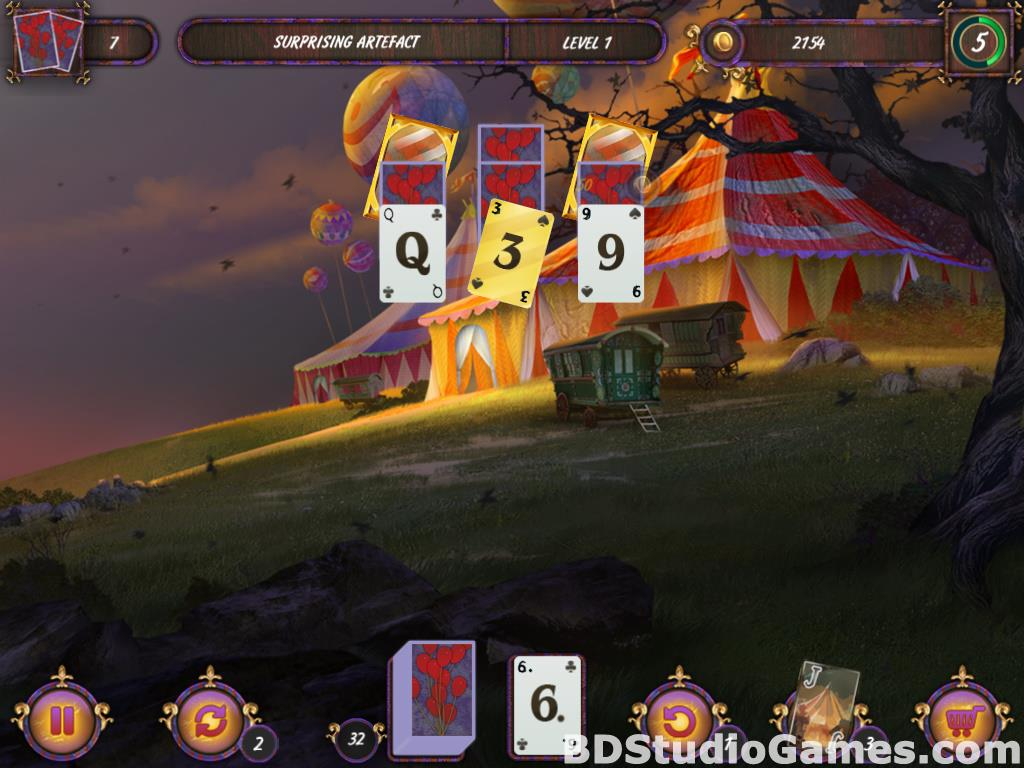 Dark Solitaire: Mystical Circus Free Download Screenshots 08