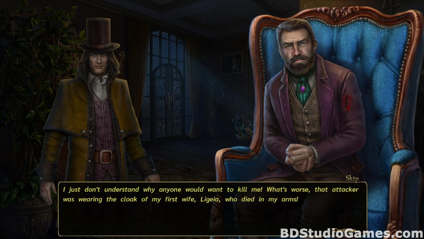 Dark Tales: Edgar Allan Poe's Ligeia Game Download Screenshots 17