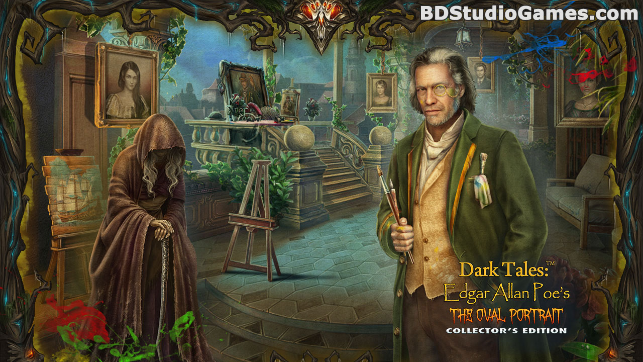 Dark Tales: Edgar Allan Poe's The Oval Portrait Collector's Edition Free Download Screenshots 2