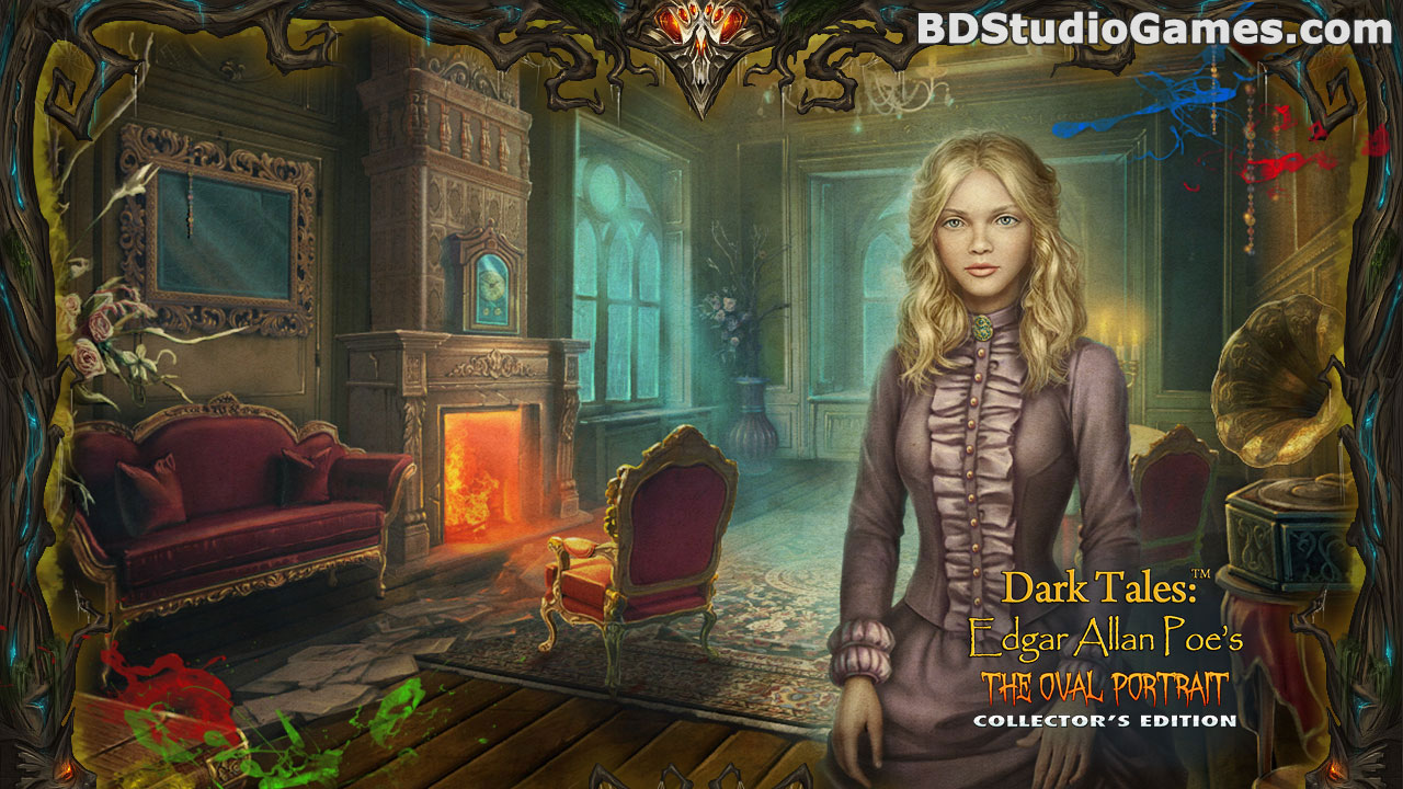 Dark Tales: Edgar Allan Poe's The Oval Portrait Collector's Edition Free Download Screenshots 5