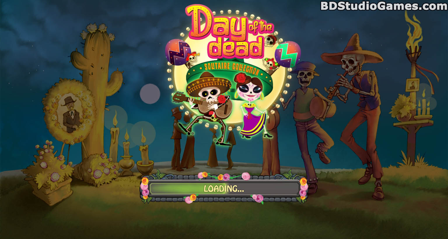 Day of the Dead: Solitaire Collection Trial Version Free Download Full Version Buy Now Screenshots 01