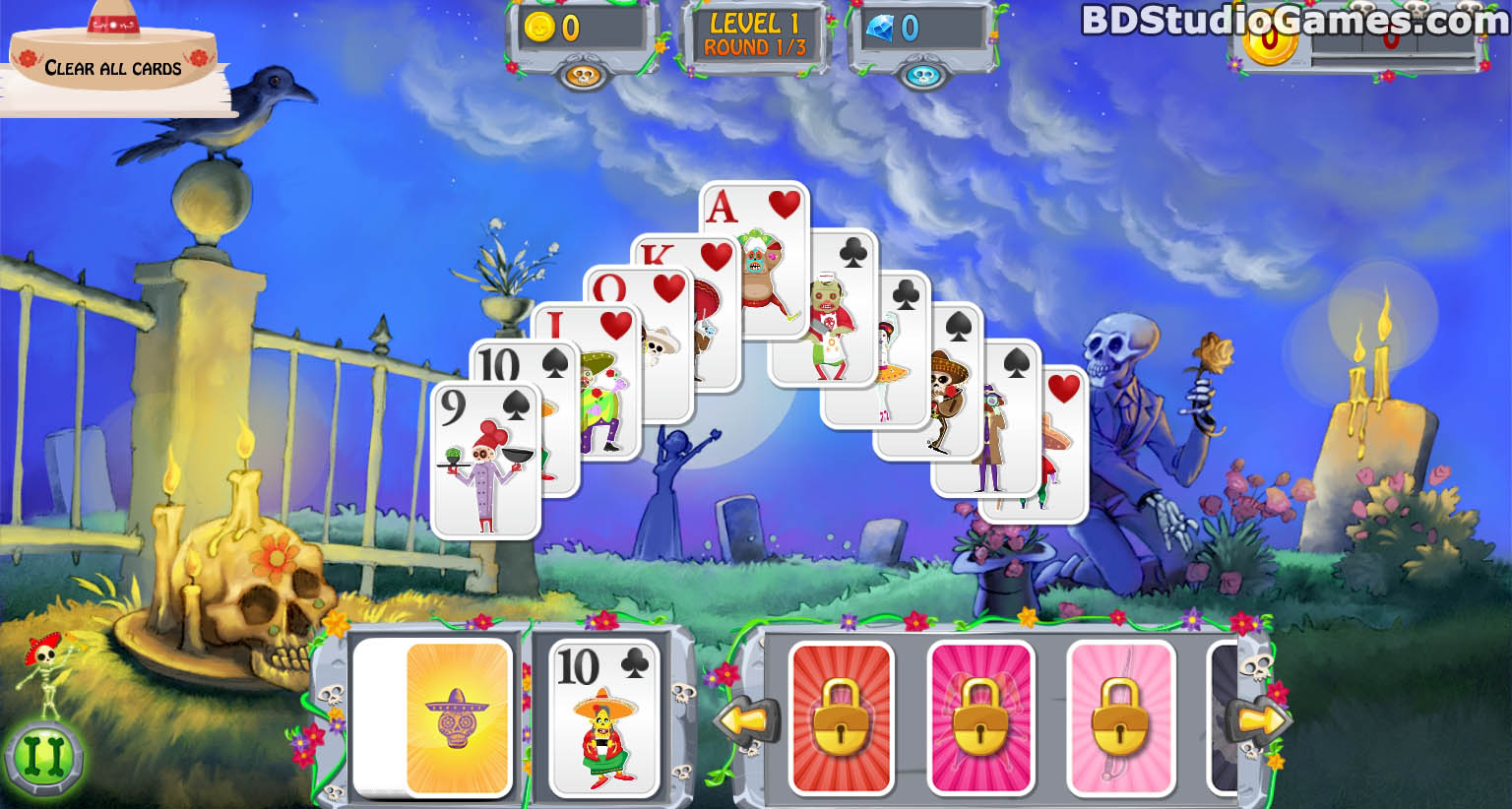 Day of the Dead: Solitaire Collection Trial Version Free Download Full Version Buy Now Screenshots 02