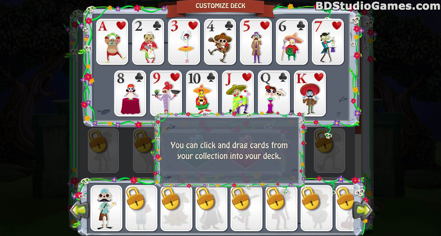 Day of the Dead: Solitaire Collection Trial Version Free Download Full Version Buy Now Screenshots 05