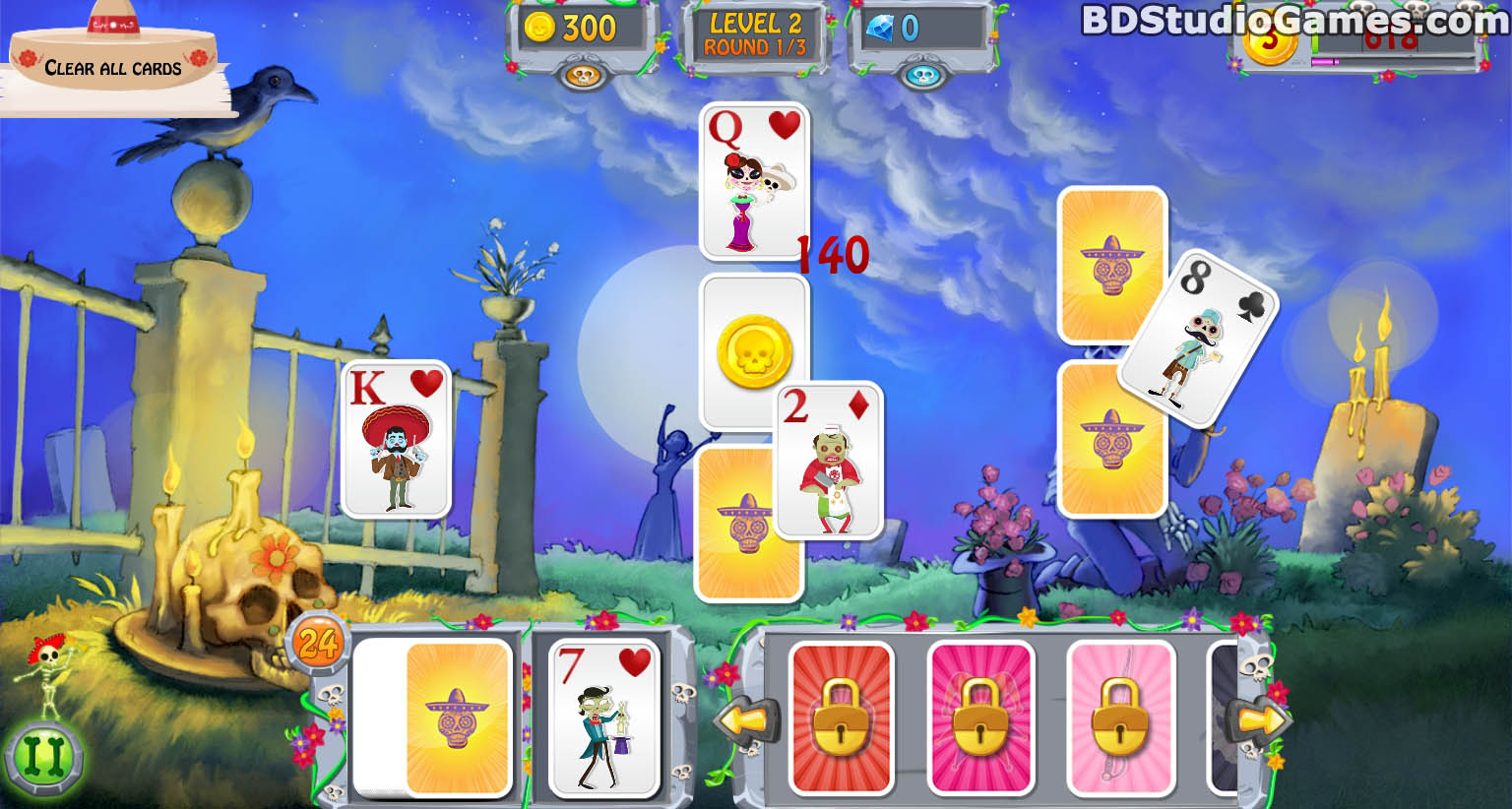 Day of the Dead: Solitaire Collection Trial Version Free Download Full Version Buy Now Screenshots 08