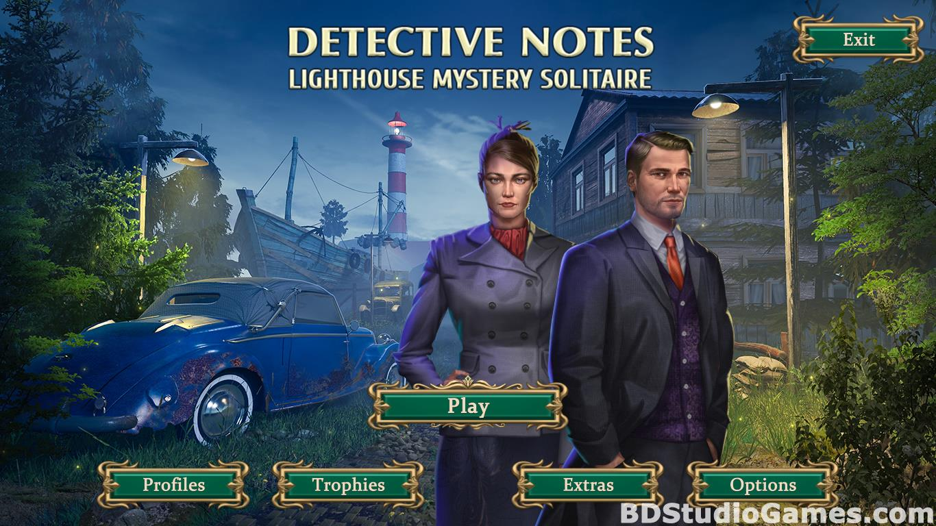 Detective Notes: Lighthouse Mystery Solitaire Free Download Screenshots 01