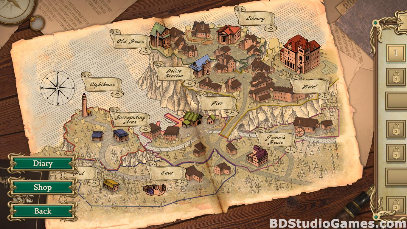 Detective Notes: Lighthouse Mystery Solitaire Free Download Screenshots 06