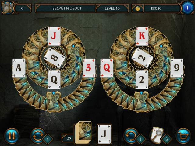 Detective Solitaire: Inspector Magic And The Forbidden Magic Free Download Screenshots 1