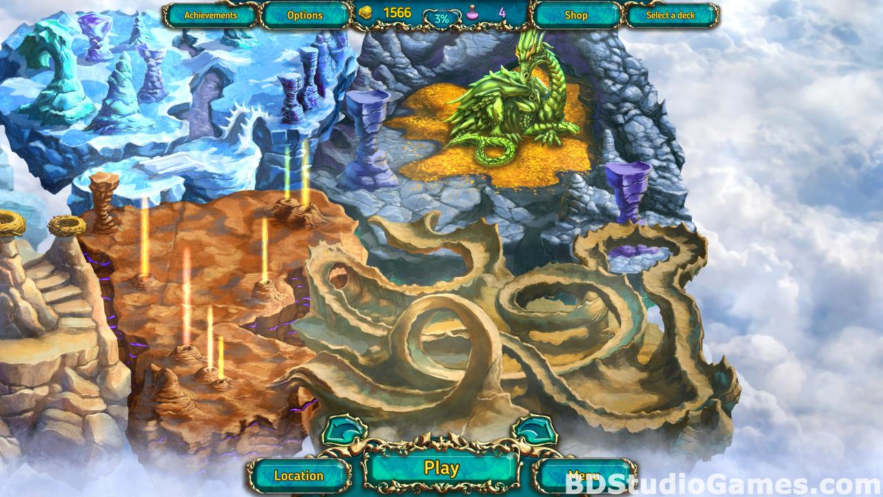 Dreamland Solitaire: Dragon's Fury Free Download Screenshots 18
