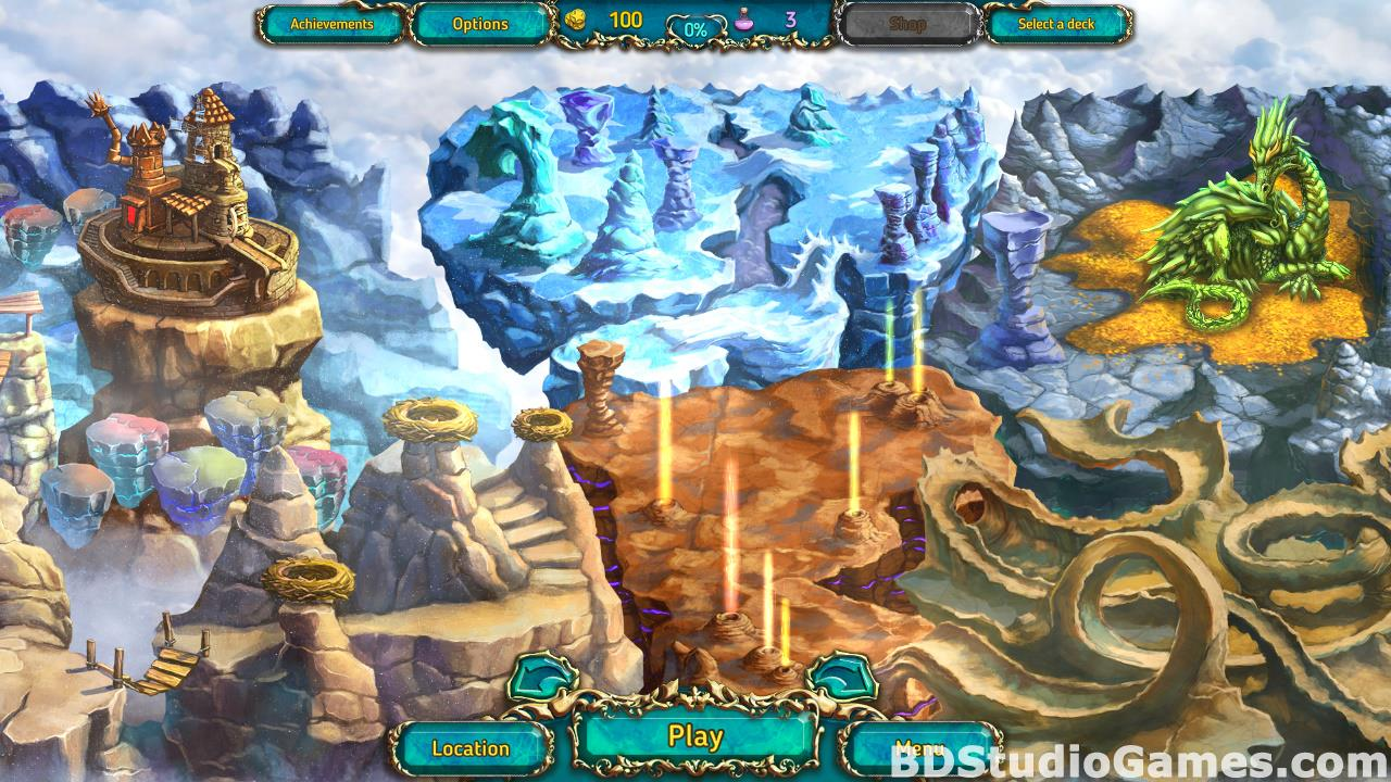 Dreamland Solitaire: Dragon's Fury Free Download Screenshots 03